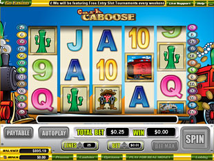 Cash Caboose slot game online review