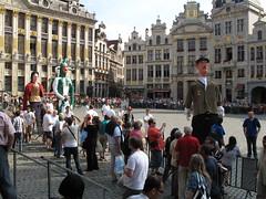 Rievocazione - Grand Place - Bruxelles