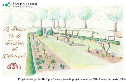 The Paris Garden designed by French Student Audrey Gerraerts.