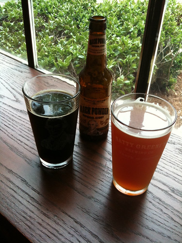 Natty greenes freedom ipa black powder imperial stout
