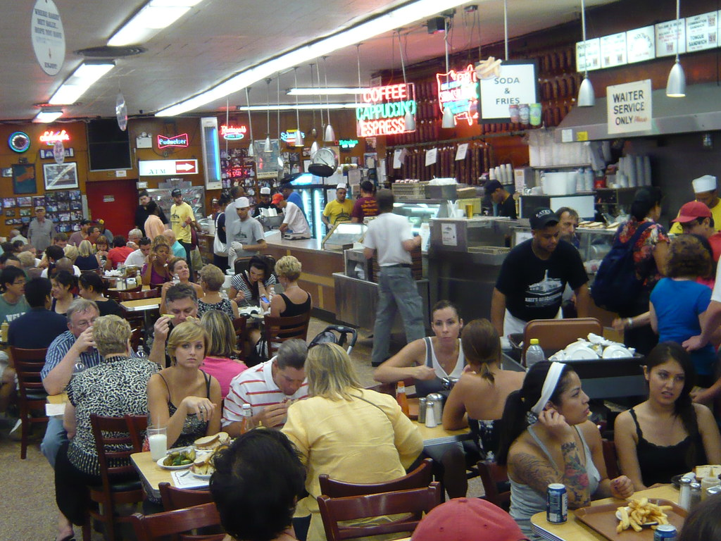 Katz's Delicatessen by shinya, on Flickr