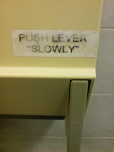 """200912_29_01k - Push Lever """"Slowly"""""""