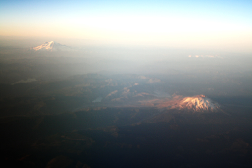 Cascade Mountians from Plane