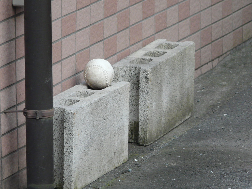 Ball Storage in Breeze Block