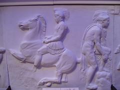 Soldiers (Aidan McRae Thomson) Tags: sculpture london greek athens plaster frieze parthenon relief cast classical procession britishmuseum acropolis antiquity panathenaic westfrieze