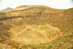 5b. 600m deep crater, one of many around Marsabit