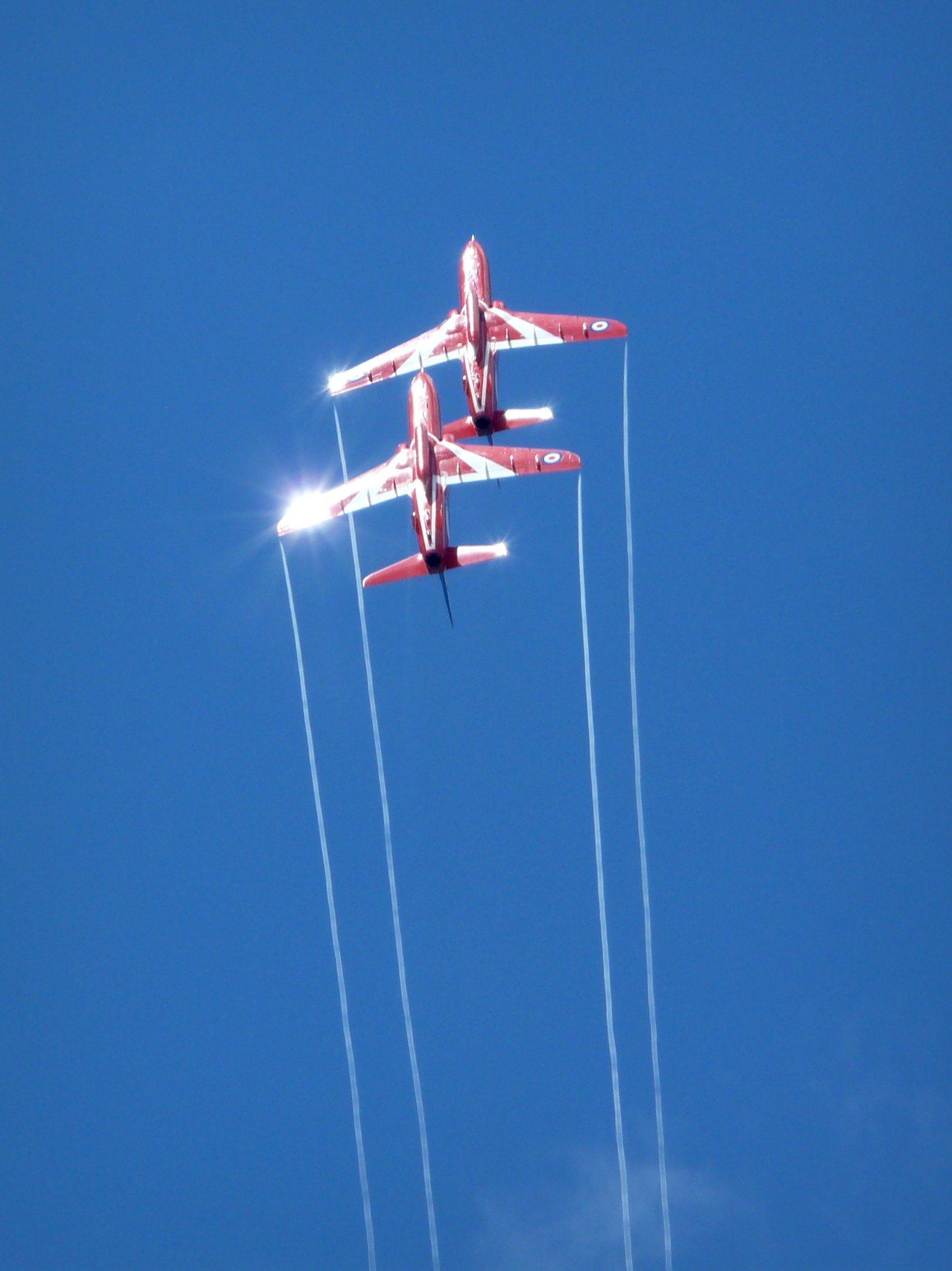 Red Arrows at Farnborough Airshow 2010