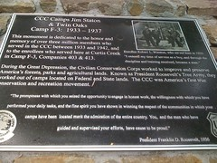 CCC Plaque
