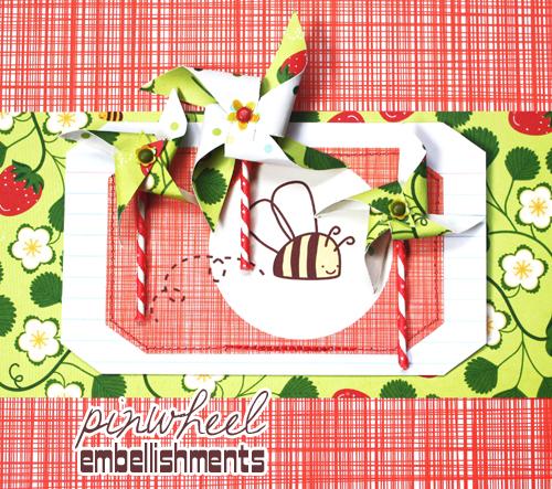 Pinwheel Embellishments