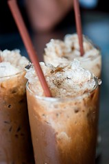 Ice Coffee (silverlily) Tags: trip food holiday cold ice coffee thailand nikon asia drinks thai iced huahin beverages icecoffee thaifood icecold asiancuisine d90 1755mm thaicuisine  rangafaejekpia unclepiacoffeeshop unclepia