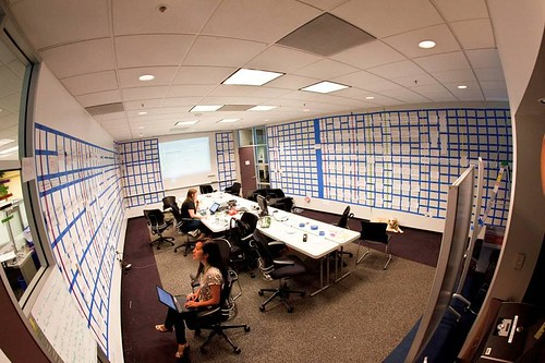 Snapshot of our GTC War Room, home to the conference schedule