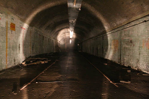 The main factory tunnels