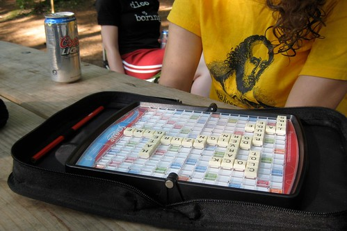 211/365: Travel Scrabble