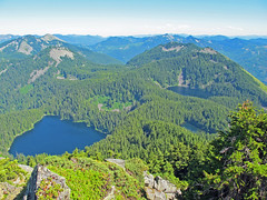 Lakes view from Mt. Defiance