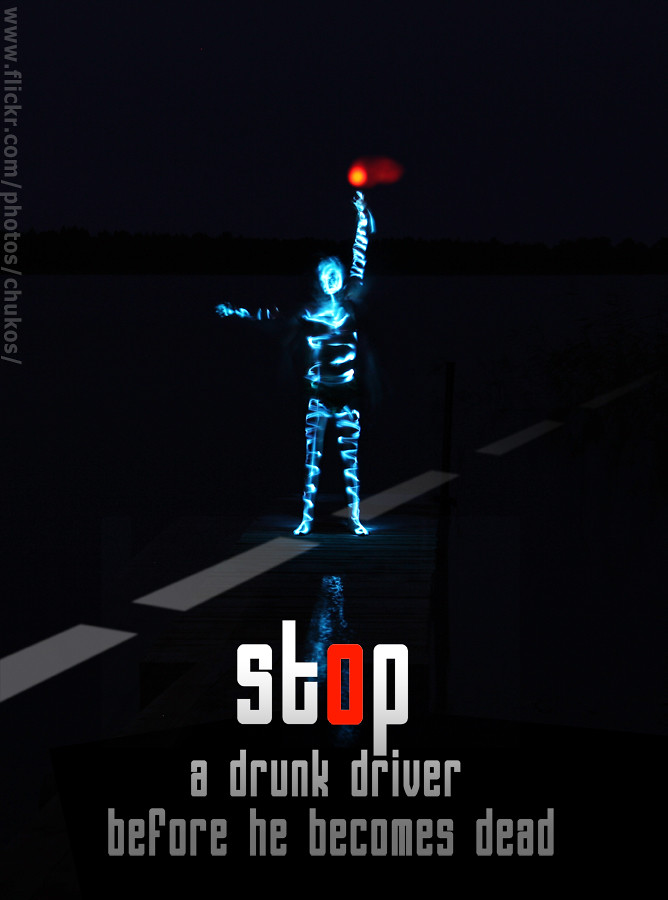 PSA stop a drunk driver before...