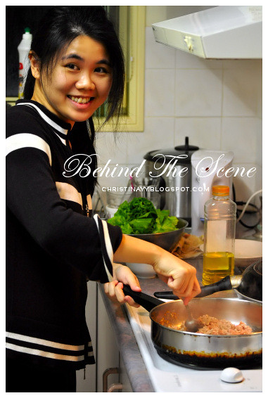 Home-Cooking: Stir Frying Minced Pork