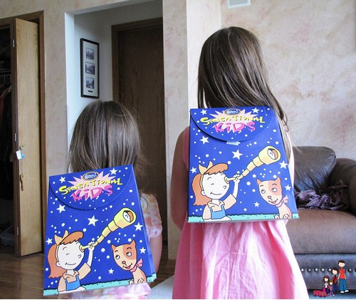 Easy to Wear Backpack!