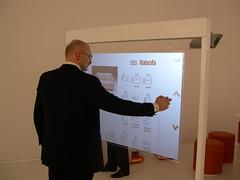 Salone del Mobile 2010 (Corepixx) Tags: hand totem tracker natuzzi interattivo olografico