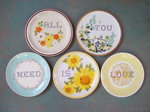 custom plates for danielle