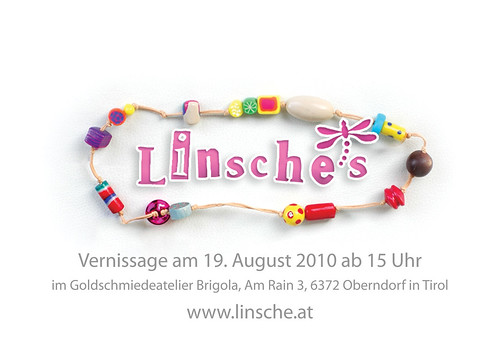 Linsche's — Vernissage Flyer