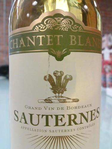 Protz a apporté un Chanet Blanet - Grand Vin de Bordeaux - Sauternes - Appellation Sauternes Contrôlée - 20100803_021.jpg