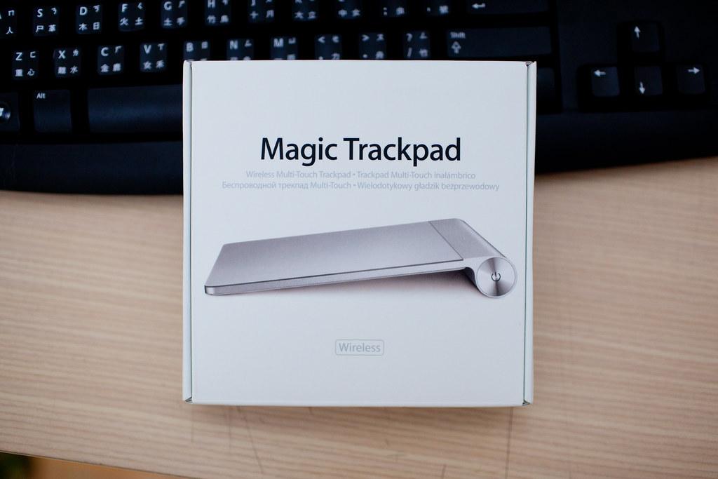 Magic TrackPad 開箱 @3C 達人廖阿輝