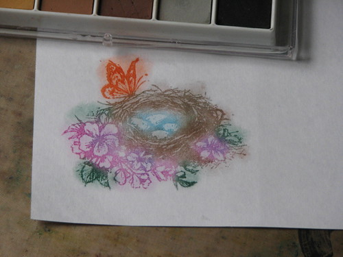 Stamped & Chalked Image 008