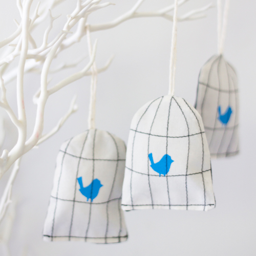 bird cage decorations / Tabitha Patterson