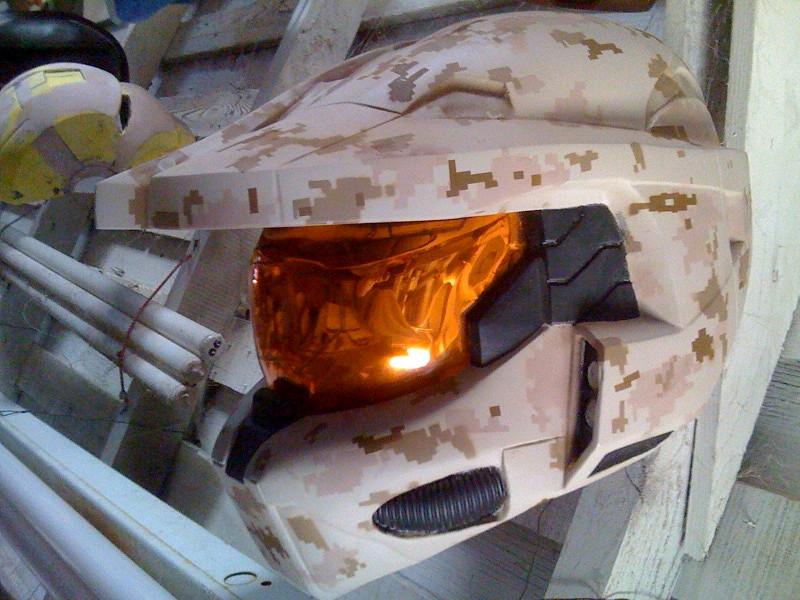 MARPAT desert MkVI HALO Helmet copy