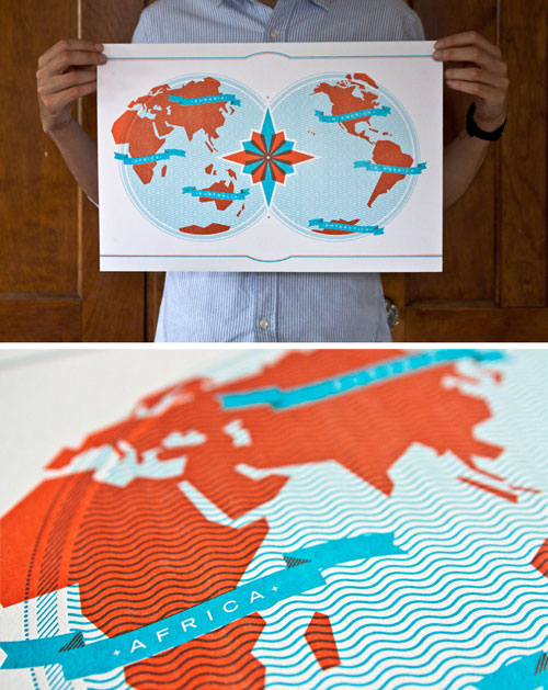 Image-of-Letterpress-World-Map
