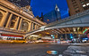 Grand Central, Pershing Square, Chrysler Building NYC - Manhattan (DiGitALGoLD) Tags: new york city nyc building tower station yellow night train square nikon long exposure shot manhattan cab taxi tripod central nypd grand chrysler nikkor f28 gitzo pershing d3 1424mm