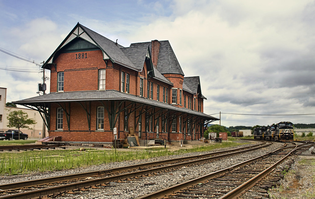Sayre Train Depot