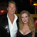 Rebecca with David Hasselhoff