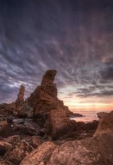 Portio (martin zalba) Tags: sunset landscape atardecer paisaje roca rocas liencres portio