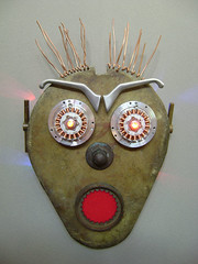 Mask : Assemblage Robot Art (Talbotics) Tags: sculpture art robot nightlights faces mask handmade assemblage character led robots masks recycledart nightlight leds foundart robotics thescream bot nitelite robotic edvardmunch assemblageart nitelites robothead nitelight foundobjectart munchscream robotlights robotart nightlites robotsculpture assemblagerobot avitzur foundobjectrobot foundartrobot recycledartrobot foundobjectartrobot talbotics talavitzur