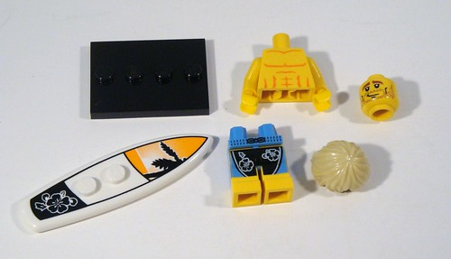 LEGO Collectable Minifigs Series 2 - Surfer