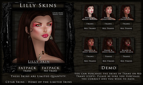 .::CStar::. Lilly Skin Full Display