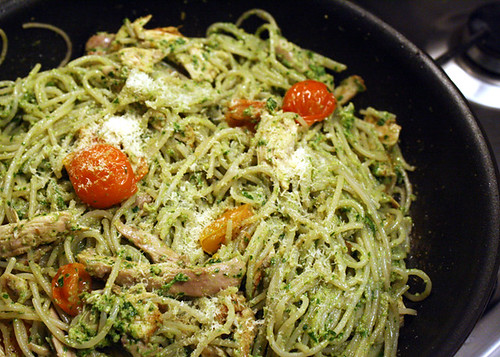 Gluten Free Scallywag_Chicken N Rocket Walnut Pesto Pasta
