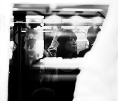 (c.lemon) Tags: japan train japanese tokyo candid explore   japon commuters japonais   tokyoga sauvette
