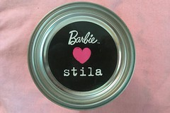 Barbie Loves Stila (Skellington15108) Tags: paint barbie makeup can x loves peterson michaela stila skellington15108