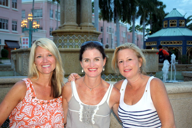 Mizner Park with friends