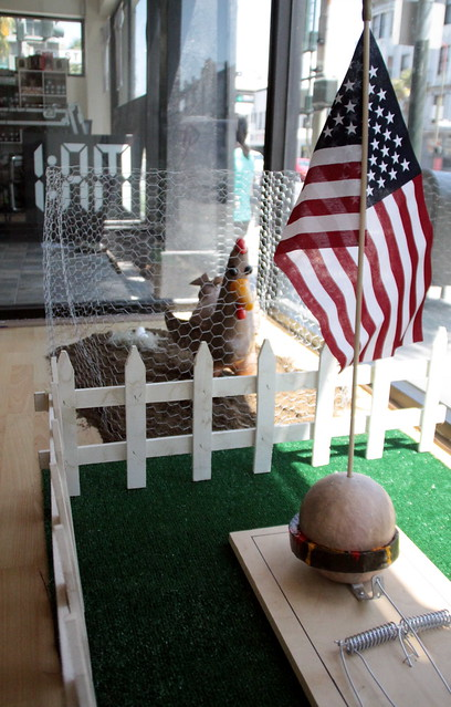 USA: Burgers and Chickens