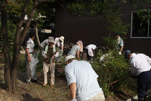 盆前清掃2010