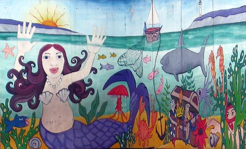 Mural ~ Sharrow Vale School