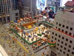 LEGO Store (electronization) Tags: nyc newyorkcity newyork toys lego manhattan rockerfellercenter buildingblocks