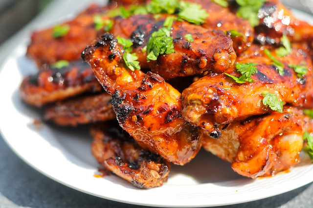 Honey Chipotle Wings
