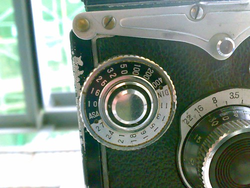 YASHICA-D ISO調整盤