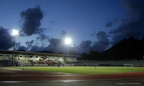 Surakul Stadium, photo taken at half time