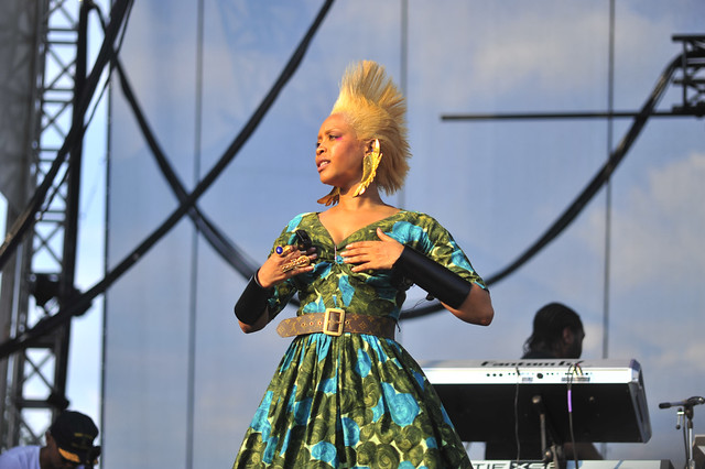 Erykah Badu at Lollapalooza