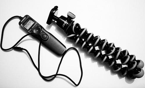 Joby Gorillapod SLR & Yongnuo MC36R Cable Release
